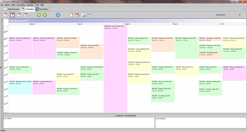 Software product spotlight audiology solutions network scheduling malvernweather Choice Image