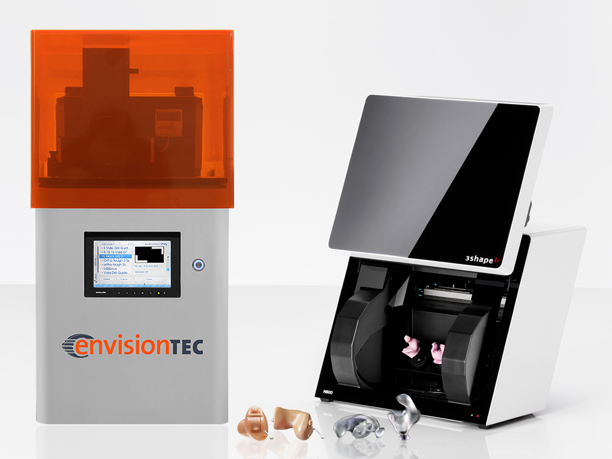 EnvisionTEC and 3Shape Offer Turnkey Sys...