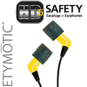 HD5 Safety™ Earphones