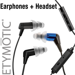 Earphones + Headset