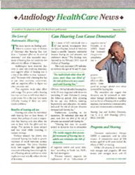 Audiology Healthcare News...