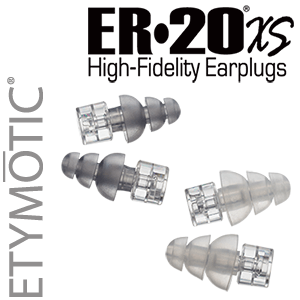 ER•20®XS High-Fidelity Earplugs