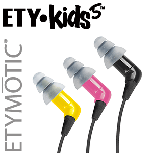 ETY•Kids® Safe-Listening Earphones