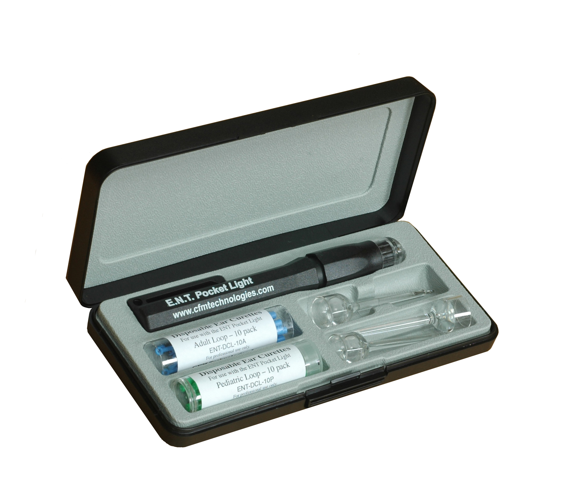 Cerumen Management Set with assorted cur...